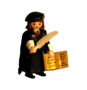 Martin Luther (Playmo-Figur, 2015). Bild: CR